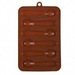 6 adagos Kanál alakú szilikon csokoládéforma - fondant forma - Q8Q7