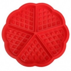 Család szilikon ostya formázókészülék mikrohullámú sütés sütemény muffin B N5F8 sütemény