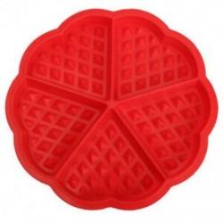 Család szilikon ostya formázókészülék mikrohullámú sütés sütemény muffin B D5Z2