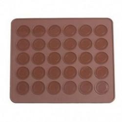2X (szilikon sütőlemez, macaroon kávé színű N5G9)