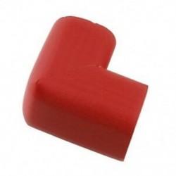 1X (Asztallapú sarokszőnyeg fedél biztonsági védőhuzat védőpárna piros W6F1