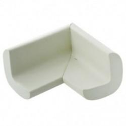 4 db Baby Kids asztal sarokvédő sarokpárnák fehér K7M4