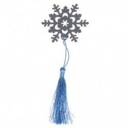 Ezüst CROSS hópehely szív BOOKMARK BABY CHRISTENING AJÁNDÉK Új W5Q9 K8T3