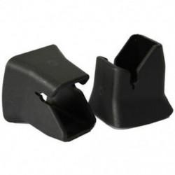 2xr ülésű gyermekbiztonsági biztonsági övcsat rögzített útmutató ISOFIXr csat fekete R3J2