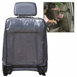 1X (autóüléses hátsó védőhuzat gyermekek számára a kick-mat sár tiszta (fekete) D9I9)