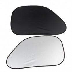 1X (2db automatikus autó oldalsó ablaksugár napernyő fekete ezüst színű K9J1)