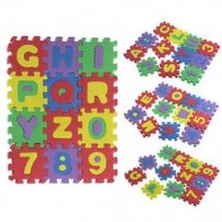 2X (36 db baba gyerek szám ábécé hab puzzle puzzle hab matematika oktatás G8N1