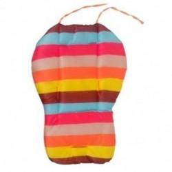 Baba csecsemő babakocsi üléses tolószék párna pamut szőnyeg Szivárványszínű puha T H6O0