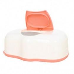 Szövet tok Baby Törlőkendő doboz Műanyag nedves szövet Automata tokápolás Accessori C1A0