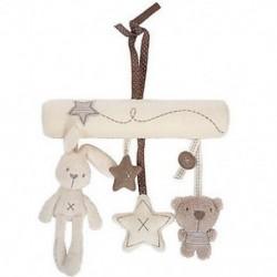 BT nyuszi vagy kutya puha játék baba óvodai kiságy Musical Lullaby Mobile U0