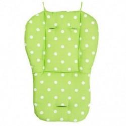 Zöld - Vastag baba csecsemő babakocsi autó ülés háttámla párna pamut takaró szőnyeg BEB