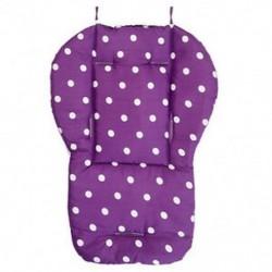 Lila - Vastag baba csecsemő babakocsi autó ülés háttámla párna pamut takaró szőnyeg BEB
