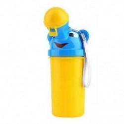 Aranyos kisfiú hordozható piszoár utazási autó WC-k gyerekek járművek Potty A1E3
