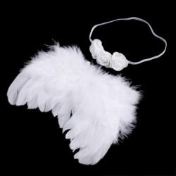 2X (újszülött baba fotózás jelmez angyal szárnyakkal fényképezés utáni angyal feat N9F6