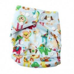 2X (Baby Piaper Cloth pelenka nadrág felett, nadrágban állítható edző Returnab V1U9