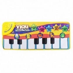 YIQU babajátékok Zenei érintőbillentyűzet énekes szőnyeg szőnyeg Vicces Animal Zongora Y2C4