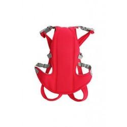 Csecsemőkocsi újszülött gyerek hevederzsinóros hátizsák piros R8K3