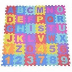 1X (36db puha EVA hab baba gyermekek Gyerekek Játszanak szőnyeg ábécé számú puzzle J O8S7