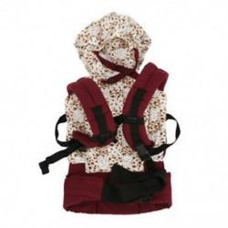 Pamut bébihordozó csecsemő kényelem hátizsák csat heveder Wrap Fashion Full H1Z4