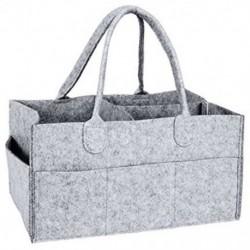 2X (óvodai tárolóedény-baba pelenka Caddy-óvodai törlőkendők, hordozható táska R6Y8