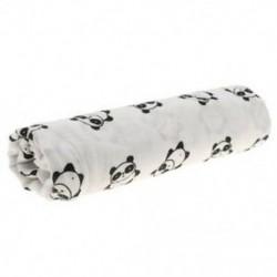 3X (Cotton Lange újszülött esküvői takaró hálózsák 110 cm x 110 cm - Pan F2A2
