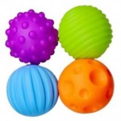 3X (ELP kézi fogású labda tapintható észlelés lágy golyó BB labda babajáték B7Z9)