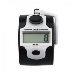 Mini 5 számjegyű elektronikus LCD kijelző digitális kézi számláló Fehér Z3Q4