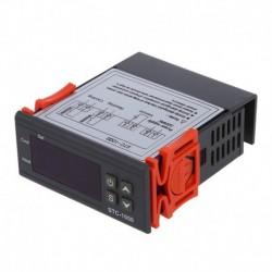 1X (220V digitális STC-1000 hőmérséklet-szabályozó termosztát szabályozó   Y5X5 érzékelő
