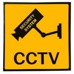 2X (3x-as matrica figyelmeztető matricák kamera / video-megfigyelő figyelmeztető sig A4Y5