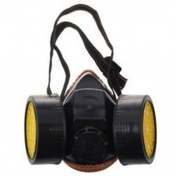 Dupla patronok porvédő maszk maszk ipari Chemi D7C7 gázhoz