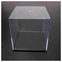 10 cm átlátszó akril kijelző doboz tok állvány porálló V3E6 T2L4 tálca