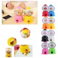 10x (Aranyos Édességek Mini Candy Gép Buborék Gumball Adagoló Érme Bank Gyerekeknek G7P0