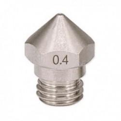 1 db új érkezési 3D nyomtató M7 rozsdamentes acél MK10 fúvóka 0,4 mm-rel 1,75 mm A7O5-hez