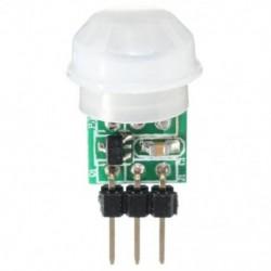 Mini IR infravörös Piroelektromos PIR testmozgás emberi érzékelő modul, K9R7
