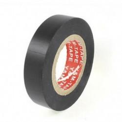 2X (PVC elektromos huzalszigetelő szalag tekercs fekete 20M hosszú, 16 mm széles blac T1I6