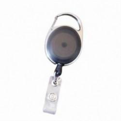 Jelvénytartó csévélő övcsipesszel behúzható karabiner személyi igazolvány névjegykártya J4D8