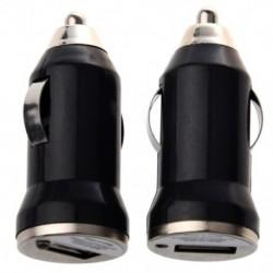 1X (2x usb fekete autós töltő adapter Apple M3V3 telefonhoz)