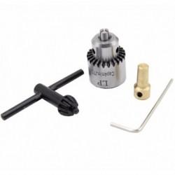 Forró elektromos fúrócsiszoló Mini fúrótokmány kulcs nélküli kulcs nélküli fúrótokmányok 0,3–4 B8I4
