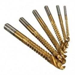 1X (6 db HSS marógép fúrókészlet fafúró szett fém fúrókészlet K0 Y0D7