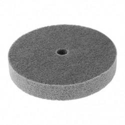 150 mm átmérőjű 25 mm vastag, 180 szemcsés szálas kerék polírozó korong D1G1