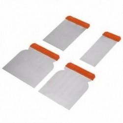 2X (KSEIBI 5-12cm 4db kaparókészlet acél pengék gitt töltelékkel töltött vakolat Drywal J3Y3
