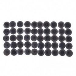 50 PCS 2 hüvelyk / 50 mm 80 Grit Roll Lock csiszolású Roloc Disc csiszolólapok G7H9