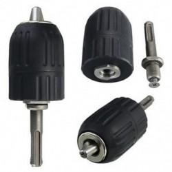 2-13 mm-es kulcs nélküli ütőfúró tokmány kéziszerszám zárral és SDS adapterrel Q8U7