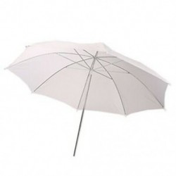 33 hüvelykes Studio Flash áttetsző, fehér, puha esernyő I5O7