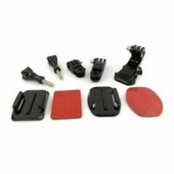 1X (9 az 1-ben sisak elülső oldalán található gyorsbilincs-rögzítő készlet GoPro Hero 6 5 4 3 2 S F1B5-hez)