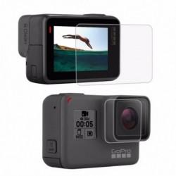PULUZ GoPro kiegészítőkhez edzett üveg film LCD HD képernyővédő fólia   Hou E8Y7