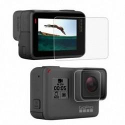 1X (PULUZ GoPro kiegészítőkhez edzett üveg film LCD HD képernyővédő fólia   F9M5