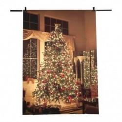 5X7FT karácsonyi téma képi ruhával készített háttérkép Háttér studi J4L7