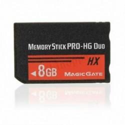 8 GB-os memóriakártya MS Pro Duo HX Flash kártya a Sony PSP Cyberhot Camera G3Q2 fényképezőgéphez
