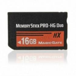 1X (16 GB-os memóriakártya MS Pro Duo HX Flash kártya a Sony PSP Cyberhot B1W1 fényképezőgéphez